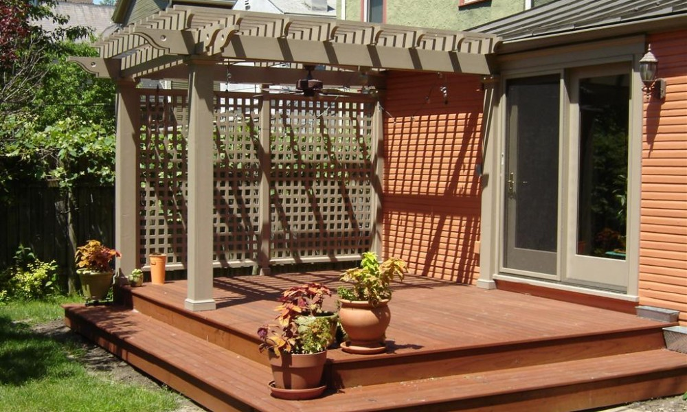 Patios And Decks For Small Backyards Boca Palm Beach Concrete Pin Magnificent Small Deck Designs Backyard